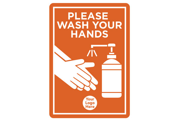Hand wash signage A