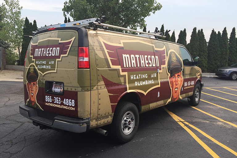 Matheson Vehicle Wrap