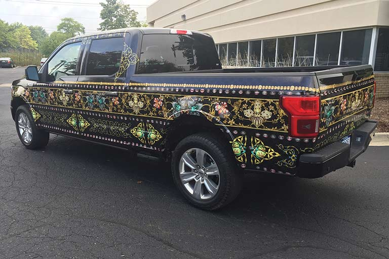 Midtown Vehicle Wrap