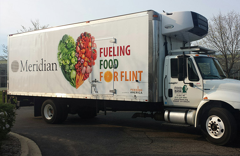 Meridian - Fueling Food For Flint