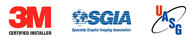 3M, SGIA, UASG Certified Installers