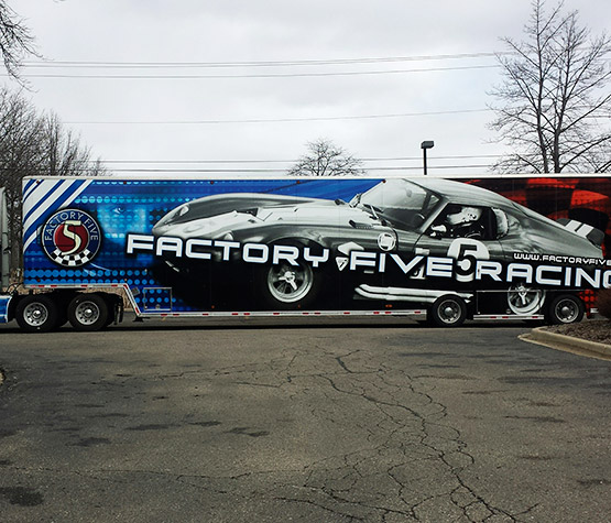 Michigan Transporter Graphics